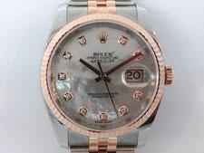 ROLEX ロレックス  デイトジャスト  10Pダイヤ  116231NGの時計買取は埼玉県上尾市の質屋かんてい局上尾駅前店