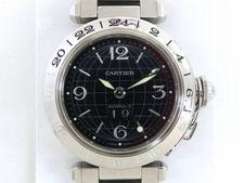 カルティエの時計を桶川市のお客様から買取(金18ダイヤリングの質預かりも高額査定)