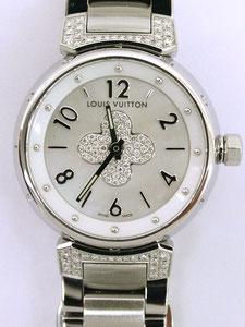 LOUIS VUITTON ルイヴィトン タンブール Q121P1 ダイヤなど腕時計の買取は埼玉県上尾市の質屋かんてい局上尾駅前店