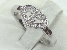 桶川市のお客様から金のダイヤリングを買取(ブランド時計の質預かりも高額査定)