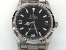 ROLEX(ロレックス)エクスプローラー1の時計を高額で買取する埼玉県上尾市の質屋かんてい局上尾駅前店