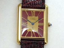 CARTIER(カルティエ)マストタンクの時計を高額で買取する埼玉県上尾市の質屋かんてい局上尾駅前店