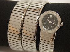 BVLGARI ブルガリ トゥボカス BB191TS レディースクォーツ 黒文字盤など腕時計の買取は埼玉県上尾市の質屋かんてい局上尾駅前店