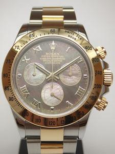 ROLEX ロレックス デイトナ ブラックシェル  116523NRの時計買取は埼玉県上尾市の質屋かんてい局上尾駅前店