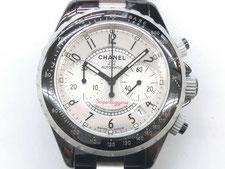 シャネルのJ12スーパーレッジェーラ時計を高額で買取する埼玉県上尾市の質屋かんてい局上尾駅前店