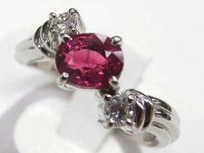 ルビーダイヤリングなど宝石、ジュエリーの買取は埼玉県上尾市の質屋かんてい局上尾駅前店