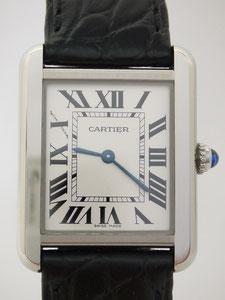 Cartier カルティエ タンクソロ SM W1018255など腕時計の買取は埼玉県上尾市の質屋かんてい局上尾駅前店