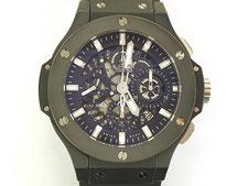 HUBLOT ウブロ ビッグバン アエロバン ブラック マジック 311 C1 1170 RXなど腕時計の買取は埼玉県上尾市の質屋かんてい局上尾駅前店
