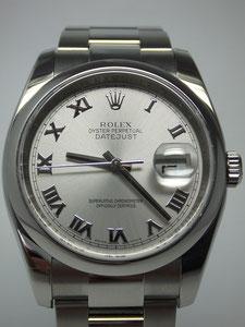 ROLEX ロレックス デイトジャスト グレーローマ 116200など腕時計の買取は埼玉県上尾市の質屋かんてい局上尾駅前店