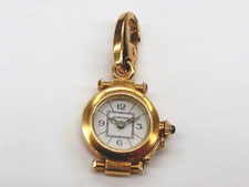 桶川市のお客様からカルティエ、金チャームを買取(バッグ、財布、ダイヤ(宝石)、時計、金、プラチナの地域NO.1の買取実績)