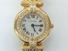 ARTIER カルティエ  RIVOLI クオーツ時計  18Kの時計買取は埼玉県上尾市の質屋かんてい局上尾駅前店