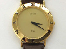 グッチの時計をどこよりも高額で買取します。(上尾市の質屋かんてい局上尾駅前店)