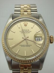ROLEX ロレックス 【中古】  デイトジャスト  1601の時計買取は埼玉県上尾市の質屋かんてい局上尾駅前店