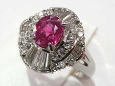 (指輪)ルビーダイヤリングの買取は質屋かんてい局上尾駅前店(金やプラチナで高額ご融資いたします)