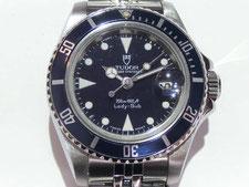 TUDOR チュードル レディーサブ 96090など腕時計の買取は埼玉県上尾市の質屋かんてい局上尾駅前店