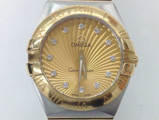 OMEGA オメガ コンステレーション ブラッシュ 123.20.24.60.58.001など腕時計の買取は埼玉県上尾市の質屋かんてい局上尾駅前店