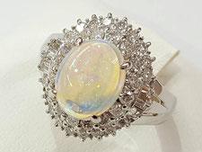 オパールダイヤリング などのジュエリー買取は埼玉県上尾市の質屋かんてい局上尾駅前店