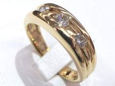 (金買取の高額店)上尾市のお客様から金のリングを買取いたしました。