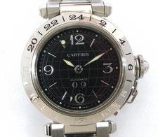 CARTIER カルティエ パシャC メリディアンGMT W31049M7など腕時計の買取は埼玉県上尾市の質屋かんてい局上尾駅前店