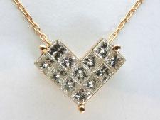 上尾市で金のダイヤネックレスを買取(質預かりも高額査定の質屋)