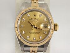ロレックス デイトジャスト 10Pダイヤ 69173Gの時計買取は埼玉県上尾市の質屋かんてい局上尾駅前店