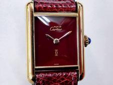 CARTIER カルティエ ヴェルメイユ ボルドー 手巻きなど腕時計の買取は埼玉県上尾市の質屋かんてい局上尾駅前店