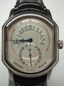 DANIEL ROTH ダニエル ロート レトログラードデイト 807.L.10など腕時計の買取は埼玉県上尾市の質屋かんてい局上尾駅前店