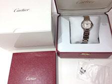 上尾市で時計のカルティエとロレックスを買取