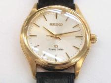 SEIKO セイコー グランドセイコー 9F61-0A30など腕時計の買取は埼玉県上尾市の質屋かんてい局上尾駅前店