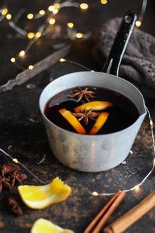Orangen-Glühwein