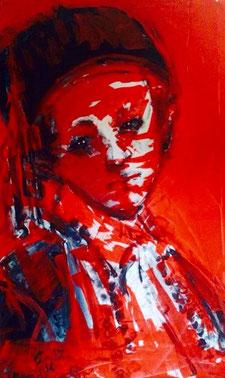 Hamida Sager, Bambino con occhi innocenti.