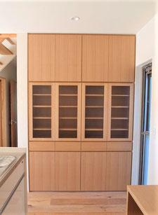 キッチン収納 食器棚 カップボード 造作家具