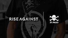 Der FC St. Pauli und Rise Against machen gemeinsame Sache