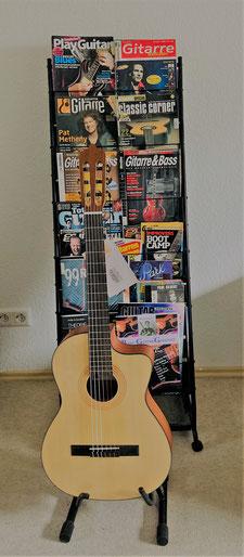 Gitarrenunterricht in Mannheim für Erwachsene und Kinder Räumlichkeiten der Gitarrenschule Ma-Guitar