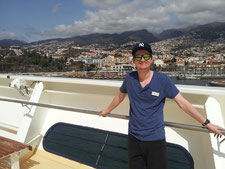 Funchal / Madeira mit Thomas / Roon