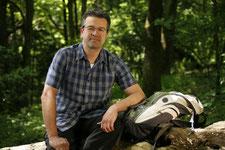 Prominenz aufdemLuderusweg: Manuel Andrack startet am 7. Mai in Billerbeck. Gut gelaunte Wanderfreunde dürfen ihn auf seiner Tour, die in Nottuln endet, begleiten. Foto: privat