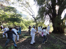 Transpersonal Workshop at Magic Mountain, Malinalco, México