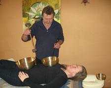 Klangmassage in Traunstein und Traunreut