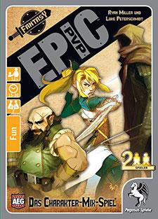 Kartenspiel Rezension: Epic PvP von Pegasus