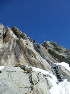Abbruchzone, Fieschergletscher Finsteraarhorn, Jungfrauregion, Skitouren Schweiz