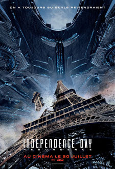 Independence Day - Resurgence de Roland Emmerich - 2016 / Science-Fiction