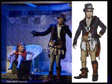 Fehringer und Leikauf,  Kostümbild Orpheus in der Unterwelt, Theater Regensburg 2017