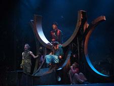 Bühnenbild Peter Pan Theater der Jugend 2017