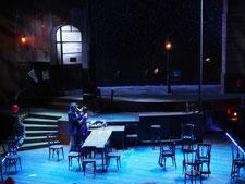 Bühnenbild Die Faschingsfee Gärtnerplatztheater