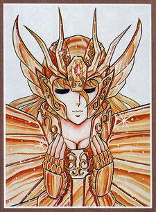 El personaje de Shaka fue creado a la imagen de su nombre en vez de su constelación, lo que lo convierte en un Saint misterioso.