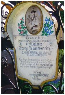 Grab von Georg Jennerwein in Hausham.