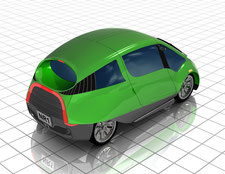 200 MPG Car by NIAMA-REISSER, LLC