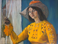 Portrait du peintre Irena Grant par Audrey Wilson