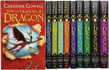 La série de romans Comment dresser un dragon écrit par Cressida Cowell sur le blog de Cloé Perrotin