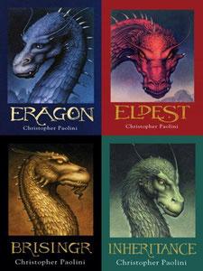 La série de romans des dragons l'Héritage écrit par Christopher Paolini sur le blog de Cloé Perrotin
